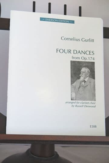 Gurlitt C - Four Dances from Op 174 for Clarinet Choir arr Denwood R